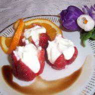 Jahody s pěnou z mascarpone recept