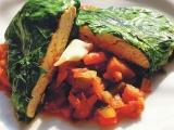 Kuřecí v mangoldu se zeleninovým ratatouille recept