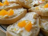 Pomerančové chlebíčky recept