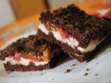 Drobenkový koláč s tvarohem recept
