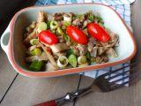 Pikantní salát z hlívy s čočkou recept