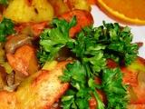 Kuřecí nudle Tandoori masala s hlívou a pórkem recept ...