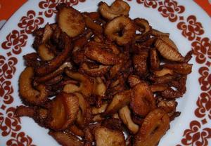 Kořeněné chipsy z hlívy