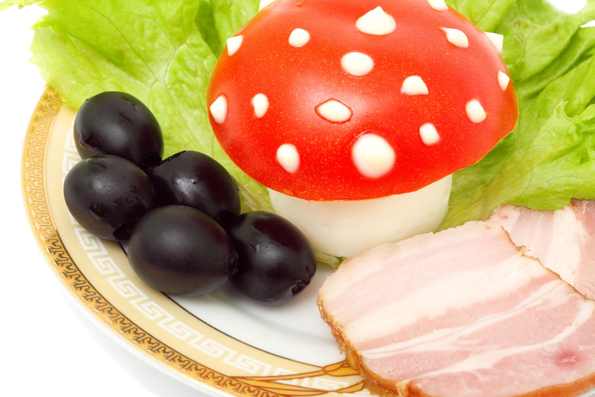 Pálivá plněná vejce recept