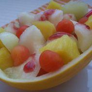 Salát z cukrového melounu recept