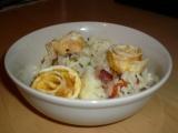 Smažená rýže s omeletou recept
