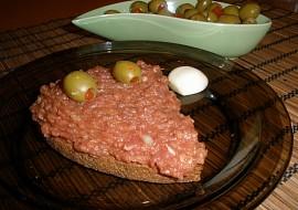 Tatarský biftek  tatarák z hovězího masa recept