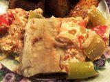 Rybí filé s lečem recept