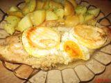Pečený pangas v hermelínové peřině recept
