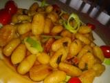 Restované gnocchi s pórkem a pikantní omáčkou recept ...