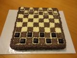 Šachovnicový dort recept