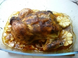 Pečené kuře na česneku recept