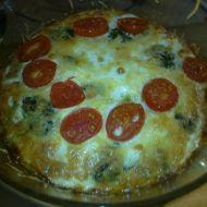 Zapečená brokolice s rajčaty recept