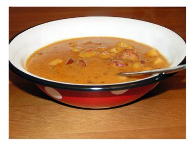 Recept Buřt guláš