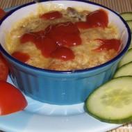 Vajíčková rýže z mikrovlnky recept