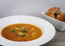 Rychlá frankfurtská polévka recept