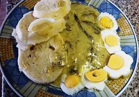 """Blesková koprovka se """"zlatými vejci"""" bez masa recept"""