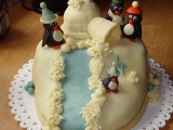 3D  Iglů s tučňáky recept