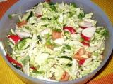 Barevný salát z pekingského zelí recept