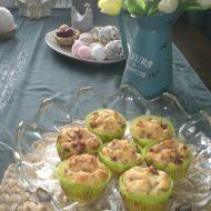Velikonoční muffiny s uzeným masem recept