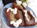 Pudinkový řez s ananasem recept