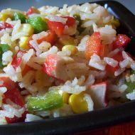 Krabí rýžový salát recept