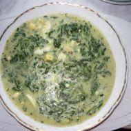 Špenátová polévka se smetanou a vejci recept