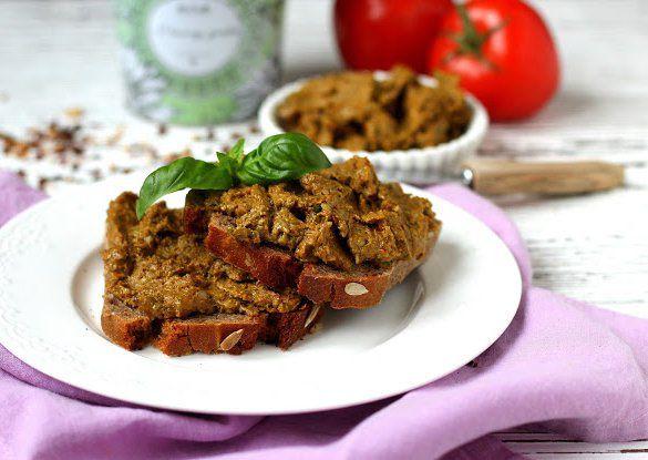Pomazánka ze sušených rajčat recept