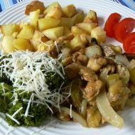 Kuřecí na houbách recept