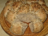 Kuličkový chléb recept