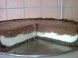 Čokoládový dort s tvarohovým krémem recept