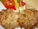 Přírodní plátky z vepřové krkovice s bylinkami recept