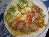 Krůtí řízečky se zeleninou a zakysankou recept