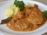Kuřecí v zelné omáčce recept