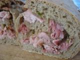 Chléb se slepičkou recept