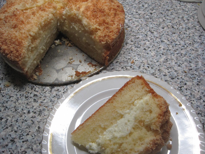 Citronový koláč s mascarpone recept
