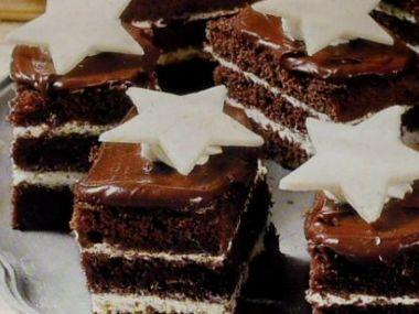 Čokoládové řezy