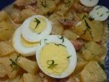 Nové brambory se smetanou recept