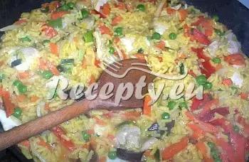 Kari rýže s masem a zeleninou recept  recepty pro děti