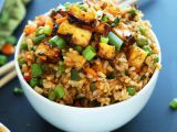 Smažená rýže bez tuku (vegan) recept