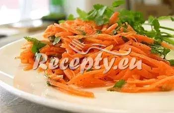 Mrkvový salát recept  saláty