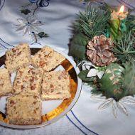 Karamelové řezy s ořechy recept
