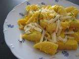 Vajíčkové knedlíky so syrom recept