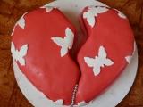 Srdíčkové dorty recept