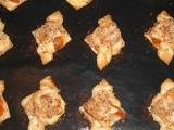 Mašle z listového těsta s tvarohem a meruňkami recept ...