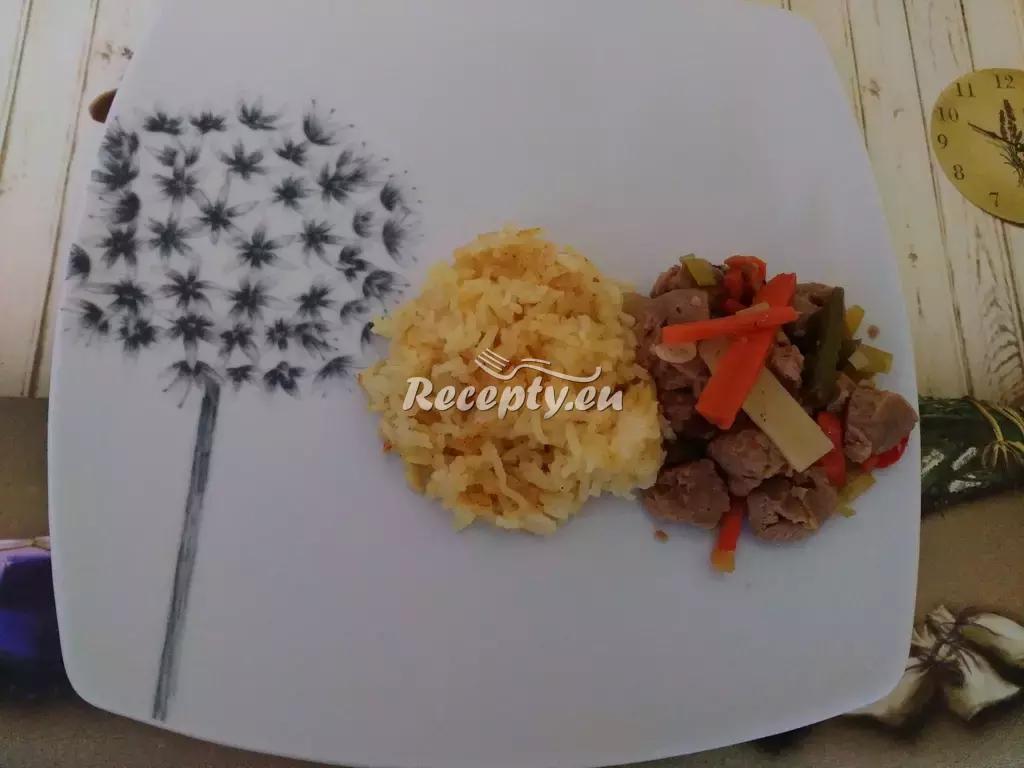 Naložené kuřecí nudličky s rýží a salátem recept  drůbeží maso ...
