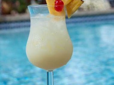 Ananasový koktejl nealko