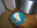 Tvarohový moučník s bílou čokoládou recept