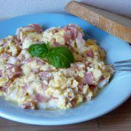 Míchaná vejce se smetanou recept