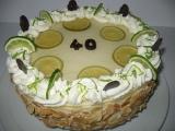 Limetový dort recept
